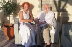 Brigitte Snoeck et Peter Hess